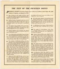 The 14 Points Speech