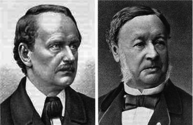 Matthias J. Schleiden (1804-1881) y Theodor Schwann (1810-1882)