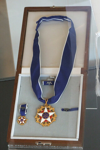 Presidential Medal of Freedom Awarded to Luce