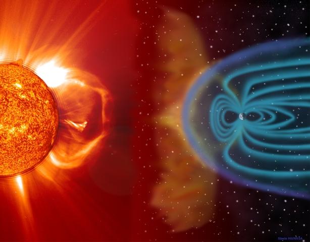 A Solar Explosion