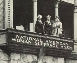 Creation of the National American Woman Suffrage Association
