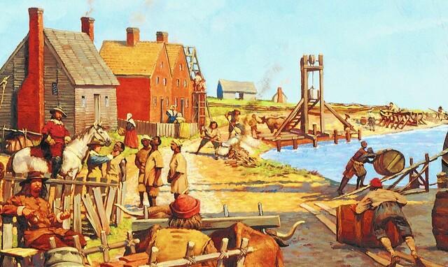 Jamestown's First Slaves