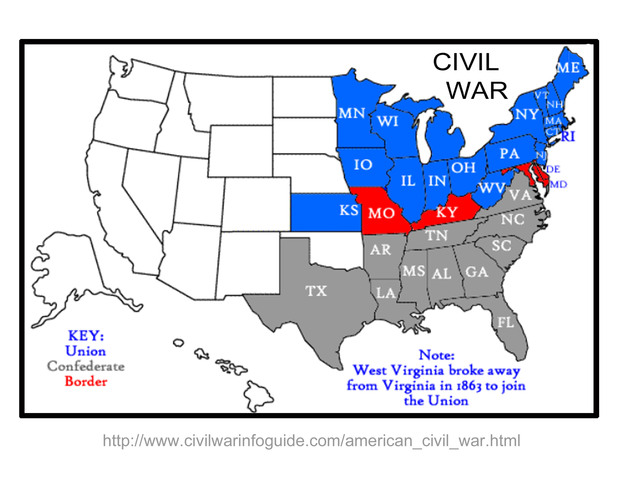 Start of Civil War pg.120