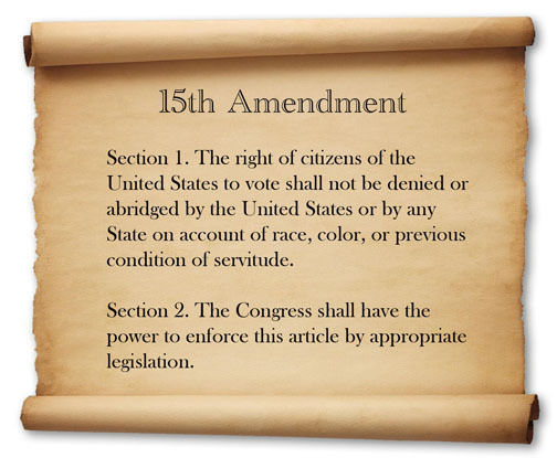 The Fifteenth Amendment pg.128