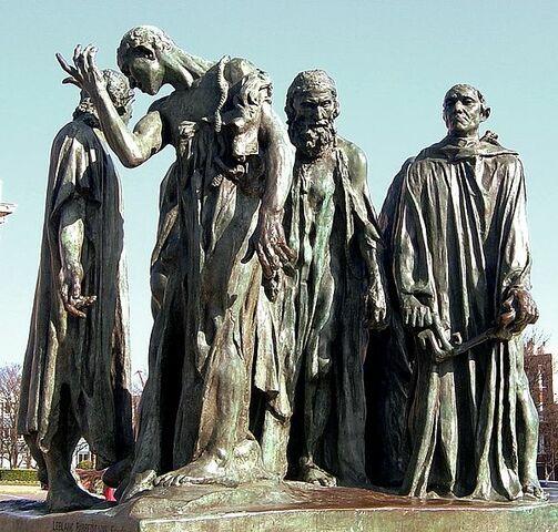Els Burgesos de Calais (Rodin)