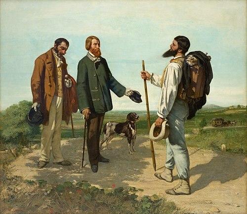 El encuentro (Courbet)