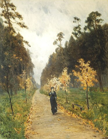Autumn day sokolniki obra realista