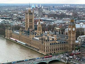 Parlament britànic de Pugin i Barry