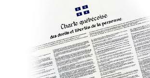 Adoption de la charte des droits et libertés du Québec