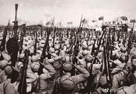 Chinese forces cross Yalu and enter Korean War