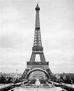 The Eiffel Tower was Finished