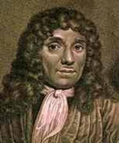 Antony van Leeuwenhoek was born