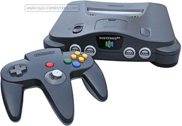 Nintendo 64 released