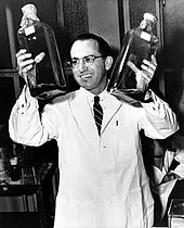 •Polio Vaccine created by Jonas Salk (1955)