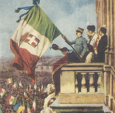 L'entrata in guerra d'Italia