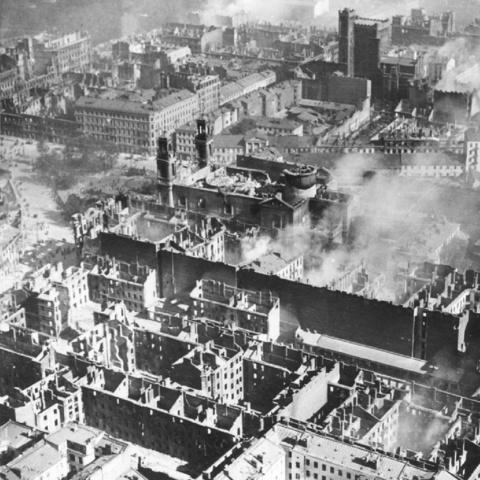 Il bombardamento di Varsavia