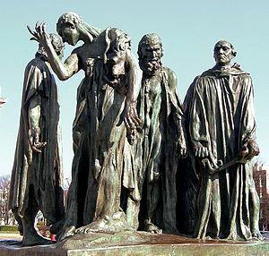 -Els Burgesos de Calais (Rodin)