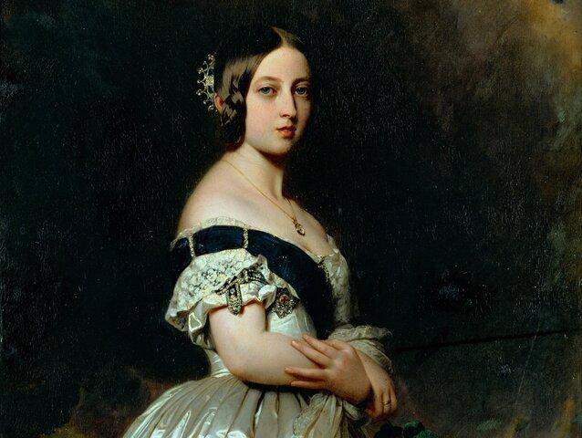Queen Victoria Crowned