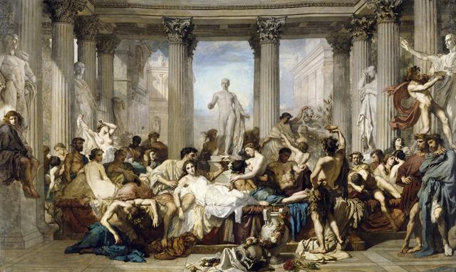 Els romans de la decadència