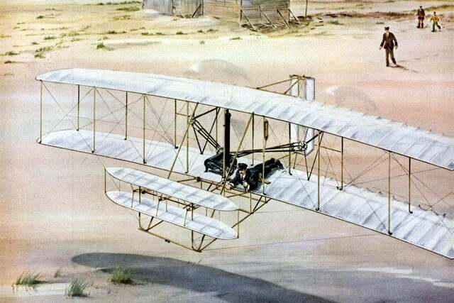 Wright Brothers Fly