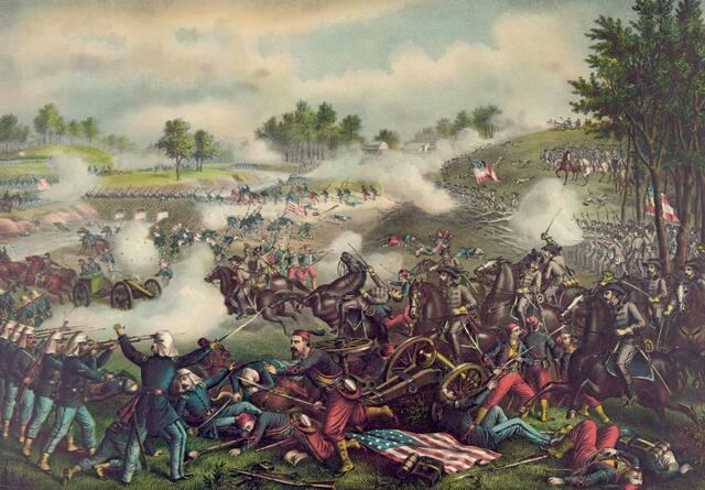 First Battle of Bull Run (Manassas).