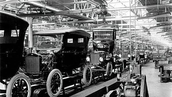 Henry Ford Invents the Assembly Line