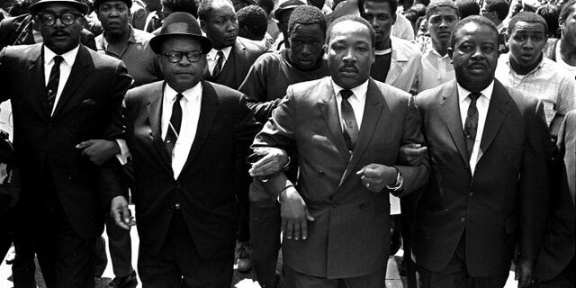 King and other civil rights leaders