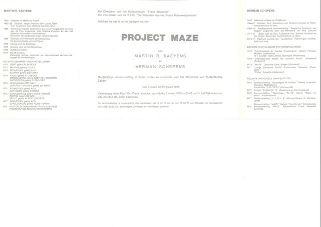 Project Maze