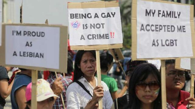 Homosexual relations legalised for men