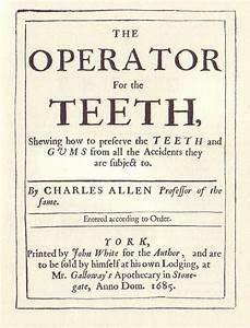 operator for the teeth