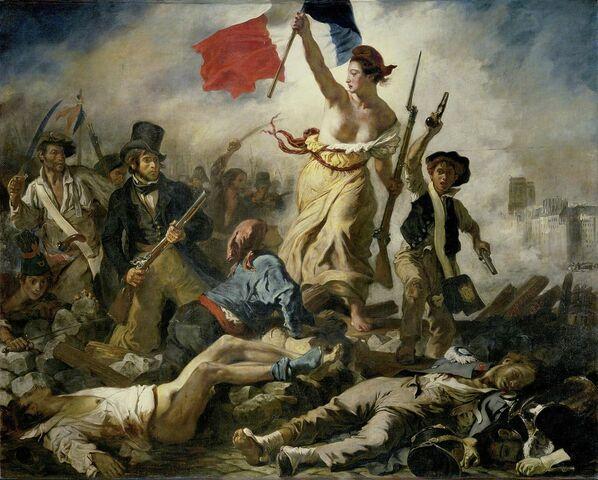 La  Libertà guida il popolo