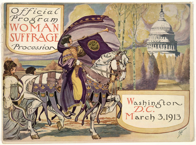The Women Suffrage Parade