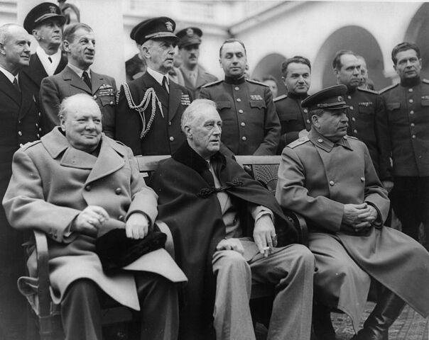La conferenza di Yalta