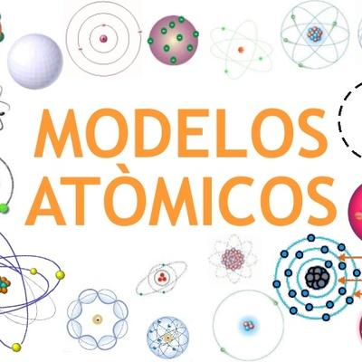 Estructura y modelos atómicos timeline