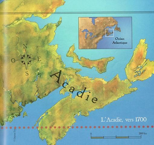 Prise de l'Acadie
