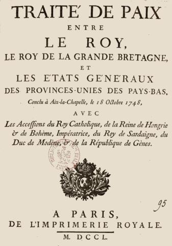 Traité d'Aix-la-Chapelle