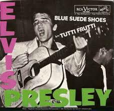 "Elvis Presley - ""Blue Suede Shoes"""