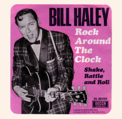 "Billy Haley - ""Rock Around The Clock"""