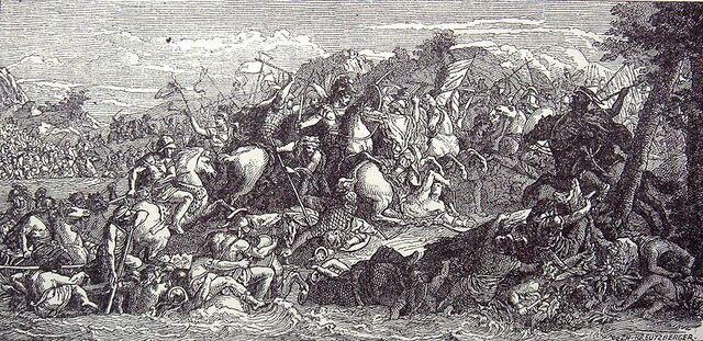 Guerra contra Persia y Batalla en el Granico.