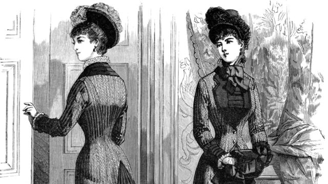 Corsets become popular
