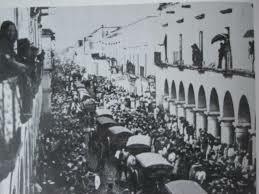 Las tropas francesas entran a Guadalajara.