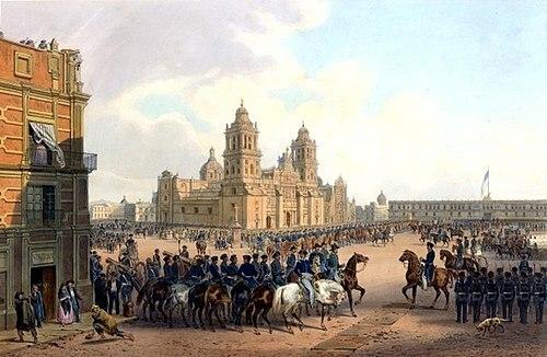 El ejército mexicano reconquista la ciudad.