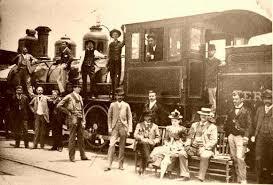 Introducción del ferrocarril.