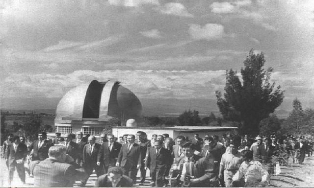 Se funda el Observatorio Astronómico.