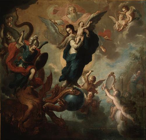 """""""La Virgen del Apocalipsis"""