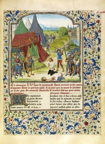 Ejecución de Filotas y Parmenión