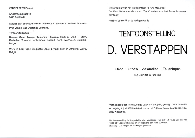 D. Verstappen
