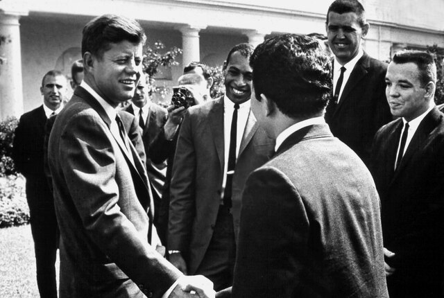 Kennedy Establishes the Peace Corps