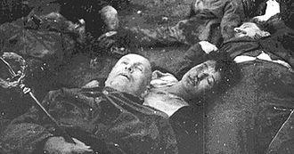 Lamorte di Benito Mussolini