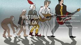 La Historia de la Música timeline